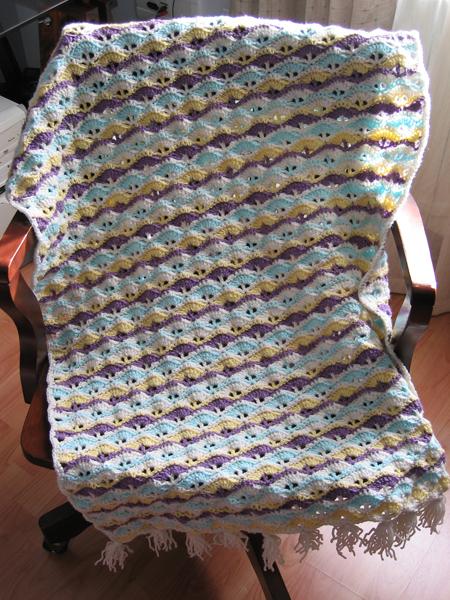 Patrones de mantas de crochet para beb s imagui - Patrones de mantas a crochet ...